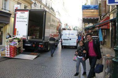 Paris : Montorgueil, laboratoire des livraisons écolos   Quartier des Halles - et un peu plus autour de la Canopée...   Scoop.it