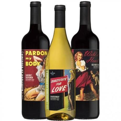 Harlequin se lance...dans le vin   Le vin quotidien   Scoop.it