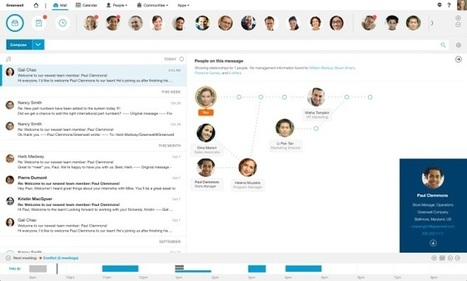 Not One to Be Left Out, IBM Unveils Its Own Rethinking of Email - Wired | List services | Scoop.it