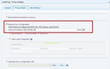 Gérer rapidement et facilement des proxy avec FoxyProxy | Au fil du Web | Scoop.it