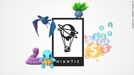 Pokemon Go startup is worth $3.65 billion | The Perfect Storm Team Mobile | Scoop.it