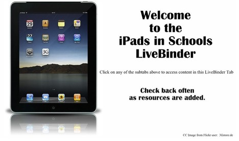 iPads in Schools - LiveBinder | iPads in K-6 | Scoop.it
