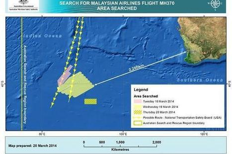 MH370: Satellite images show up to 122 'potential objects' | EconMatters | Scoop.it