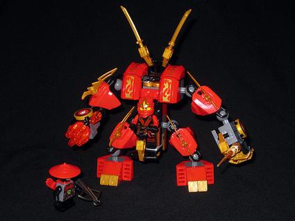 coffre à jouets: Ninjago - Le Robot   Enfants   Scoop.it