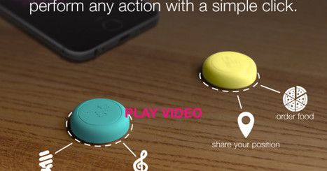 CLICK HERE to support Flic: The Wireless Smart Button | Geekeries | Scoop.it