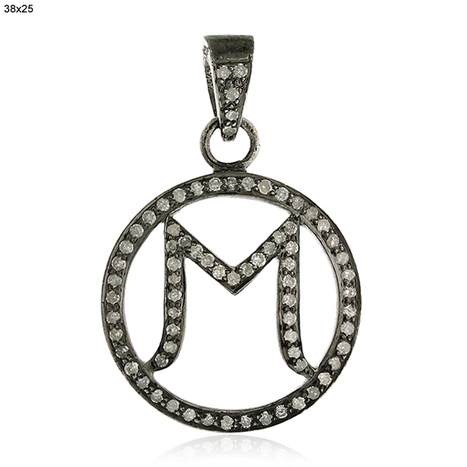 Pave Diamond M Round Pendant | Diamond Jewelry | GemcoDesigns | Pave Diamond Bangle | Diamond Jewelry | GemcoDesigns | Scoop.it