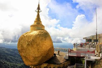 Pagoda Kyaiktiyo sobre la roca dorada - Myanmar   Vietnam   Scoop.it