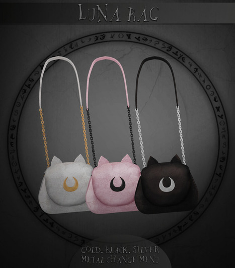 AsteroidBox. Luna Bag @ Mainstore   亗 Second Life Freebies Addiction & More 亗   Scoop.it