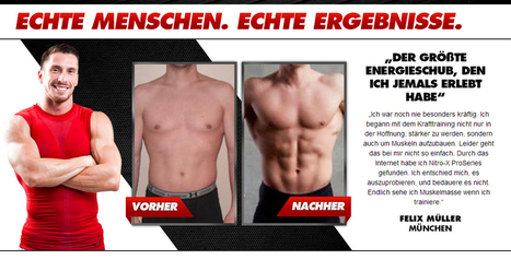 Nitro X Pro Bewertung – Get A Lean And Muscular Look! | A solution for your body | Scoop.it