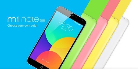 Meizu M1 Note Grabs Indian Market, Will be Available from 20th May   Latest Mobile buzz   Scoop.it