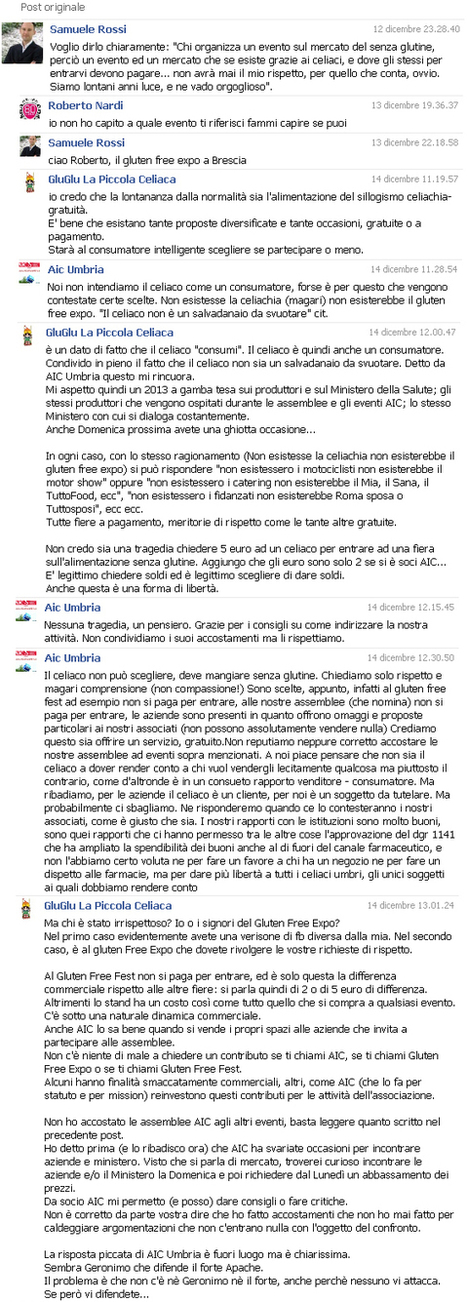 La coda di paglia: celiachia e social network | senza glutine | Scoop.it