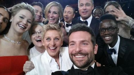 Ellen DeGeneres crashes Twitter with an Oscars selfie | Social Media Useful Info | Scoop.it