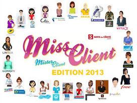 Sens du client - Le blog des professionnels du marketing client et de la relation client: Miss client 2013 : qui sera le meilleur agent virtuel intelligent ? | relation client, CRM, fidélisation | Scoop.it