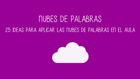25 ideas para usar las nubes de palabras en el aula | Serious Play | Scoop.it