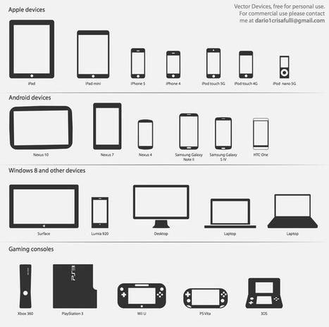 Vectores Tecnológicos - Vectores Illustrator | Recursos diseño gráfico | Scoop.it