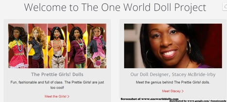 @OneWorldDolls a doll that is a friend, a partner symbol of who they are and what they can achieve | Black Fashion Designers | Scoop.it