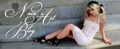 Naia, dibujo + web art en Facebook - Naia Art Blog | VIM | Scoop.it