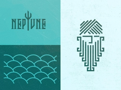 20 Beautiful Water Inspired Logos | Sometimes, All We Need is a Little Inspiration (Un poco de todo) | Scoop.it