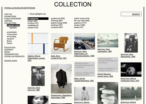 Collection - Stedelijk Museum Amsterdam   What's new in Visual Communication?   Scoop.it