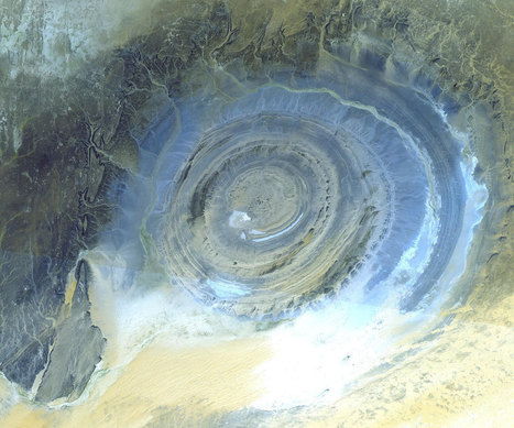 APOD: 2013 May 19 - Earths Richat Structure | Astronomy News | Scoop.it
