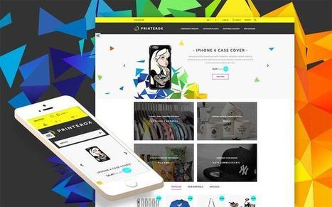 Printerox - Design Responsive Prestashop Theme for Print Shops and Services Store   platinastudio   Scoop.it