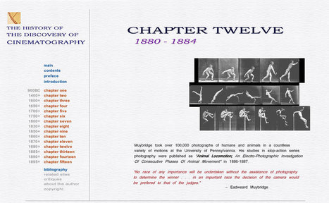 The History of Cinematography - 1880 - 1884 | James Unit 1 Film Page | Scoop.it