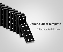 Domino Effect PowerPoint Template | domino | Scoop.it