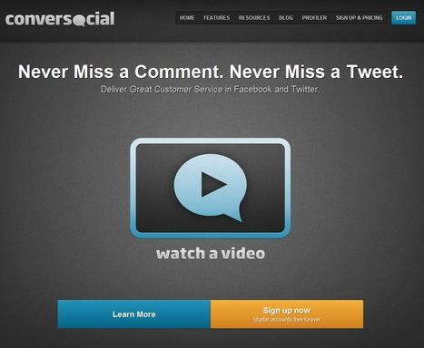 Conversocial : Software to enable customer service in Facebook and Twitter | Time to Learn | Scoop.it