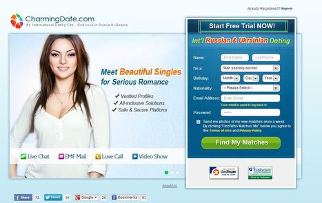 Online Dating: CharmingDate.com Reviews: International Ukrainian Dating Site   CharmingDate.com Reviews   Scoop.it