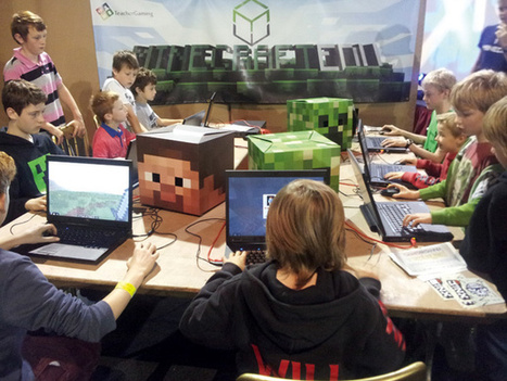 MinecraftEdu - how a small Finnish company brought Minecraft to schools | Leadership Think Tank | Scoop.it