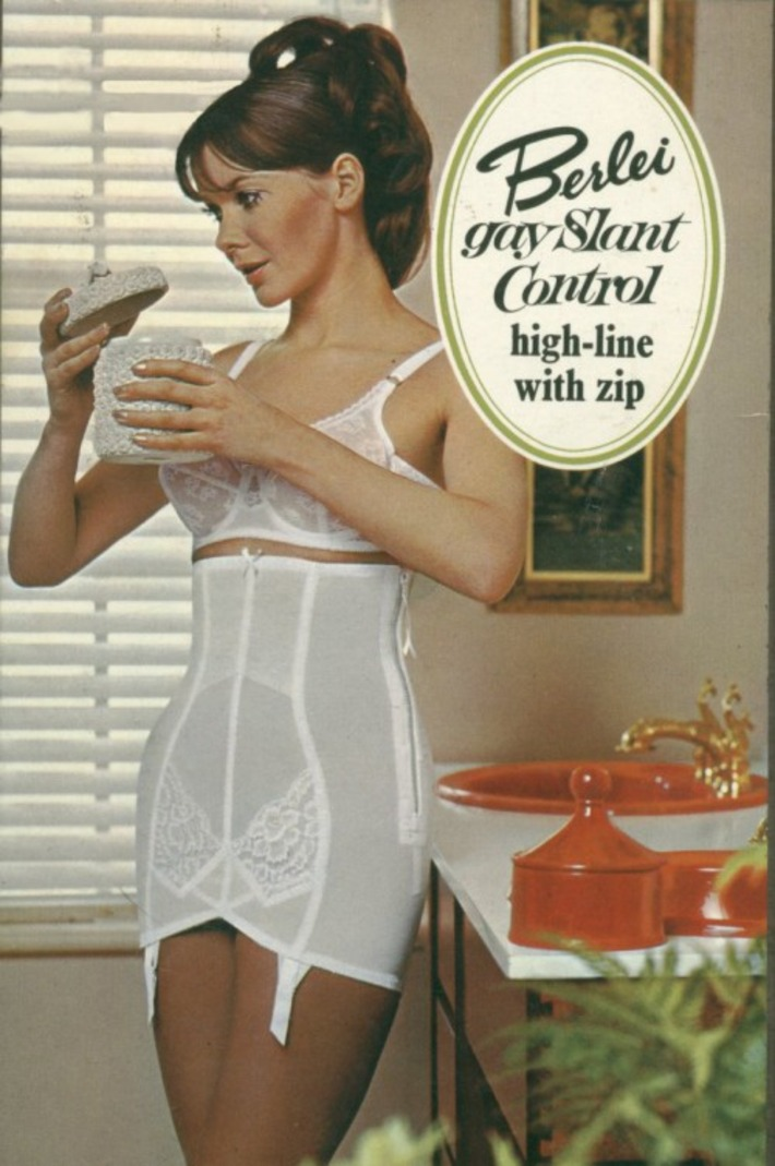 Vintage Berlei Girdle Ad | Lingerie Love | Scoop.it