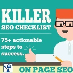 The Ultimate SEO Guide – 75+ Practical Steps To Boost Your SEO | Allround Social Media Marketing | Scoop.it