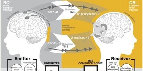 Une première expérience de télépathie réussie | prospective des organisations | Scoop.it