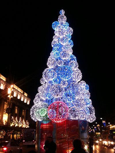 Pomul de Crăciun în Dublin | Români în Irlanda | Scoop.it