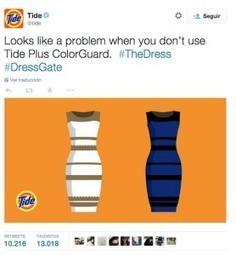 The dress. El vestido que se coló en tu marketing ¿Estrategia o casualidad? | Seo, Social Media Marketing | Scoop.it