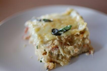 Easy White Chicken Lasagna Recipe – Chicken Artichoke Lasagna – Recipe For Chicken Lasagna With White Sauce | Cook Eat Delicious! | À Catanada na Cozinha Magazine | Scoop.it