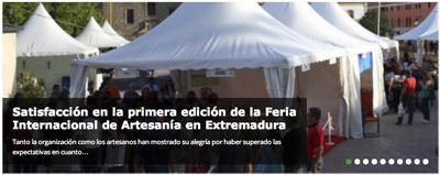 Satisfacción en la primera edición de la Feria Internacional de Artesanía en Extremadura | eresextremadura | IberoVINAC | Scoop.it