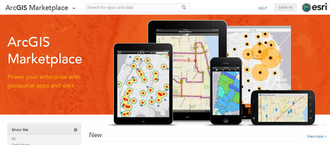 Esri lança o ArcGIS Marketplace para buscar aplicativos e dados ... | ArcGIS-Brasil | Scoop.it