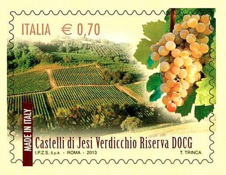 "Italian postal service issues ""Verdicchio dei Castelli di Jesi"" stamp | Wines and People | Scoop.it"