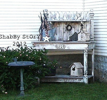 Shabby potting bench | Upcycled Garden Style | Scoop.it
