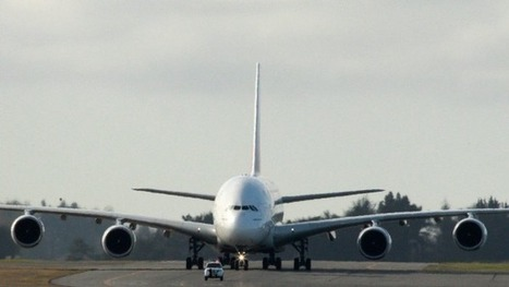 Biggest passenger plane comes to Christchurch | Airports, Airlines & Aircraft | Scoop.it