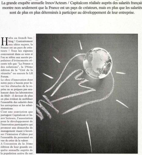 Un appétit croissant pour l'innovation participative   Marie Lagoute   Scoop.it
