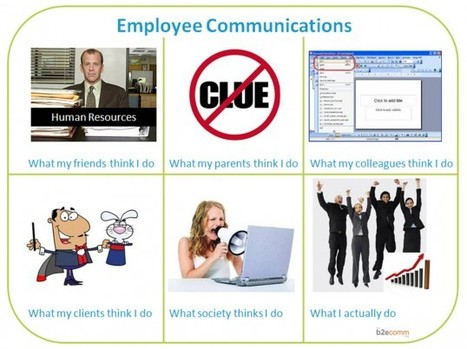 ...Because it's a friday - What People Think Employee Communicators Do   Internal Social Media   Scoop.it