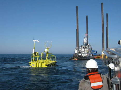 Muskegon's Andrie Inc. barge crew in Cleveland helping development of Great Lakes' first wind farm (video) | Lake Effect... Preservation & Development | Scoop.it