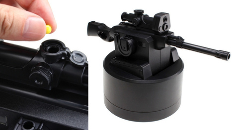 A USB-Powered BB Sniper Rifle Keeps All Work Distractions At Bay | Killer Design | Scoop.it