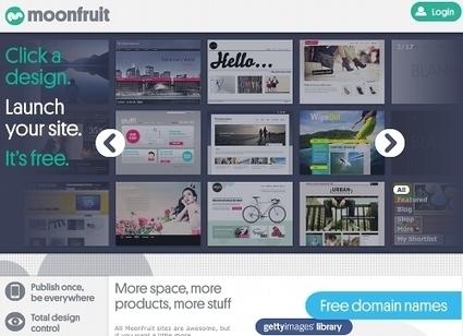5 ressources pour créer un site Web gratuit | Autour du Web | Comptoir Numérique | Scoop.it