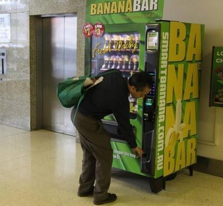 Fresh banana vending machine expands its network   Australian Food News   Vending Machine Topics   Scoop.it