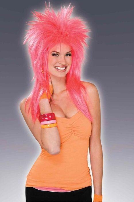 Розовый броский парик   Карнавальный костюм для детей и взрослых!   Scoop.it