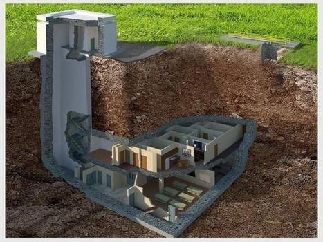 Une maison anti-nucléaire située à 14 mètres sous terre | Dans l'actu | Doc' ESTP | Scoop.it