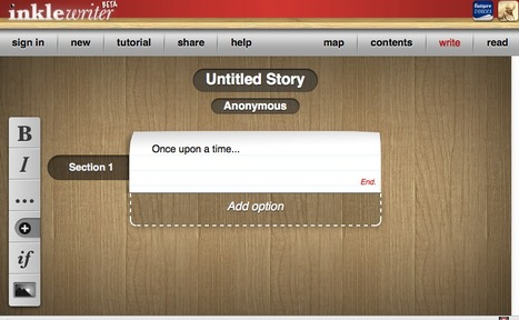 Inklewriter - create online interactive story | Web2.0 et langues | Scoop.it